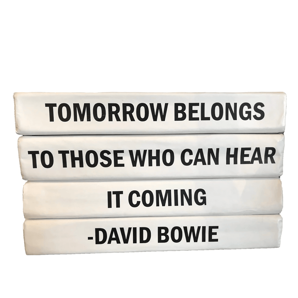 """Tomorrow Belongs ... "" Decorative Book Set Coffee Table Books Go Home Ltd."