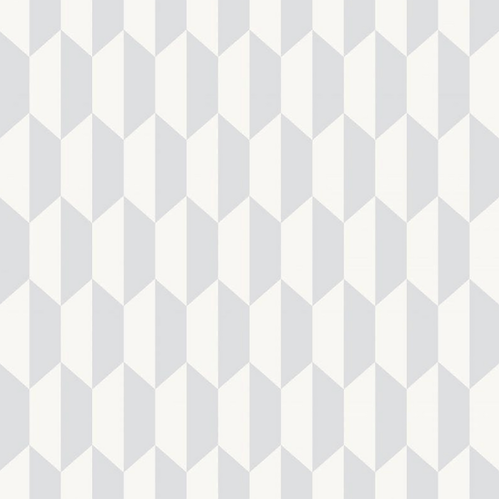 Petite Tile Wallpaper Wallpaper Cole & Son Grey
