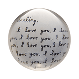 Sugarboo Paperweights Darling I love you Sugarboo Paper Weight - 2