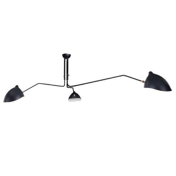 Black Ceiling Lamp  Stil Novo Lighting - 1