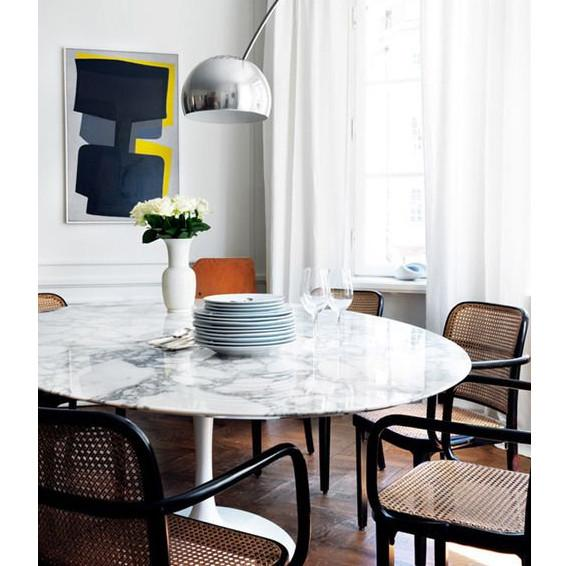 Marble Tulip Dining Table