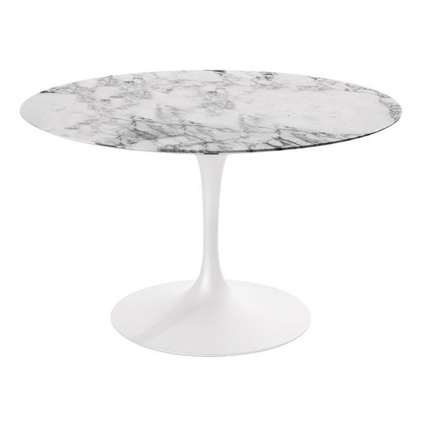 "Marble Tulip Dining Table 48"" Stil Novo Tables - 2"