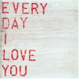 Sugarboo Art Print: Everyday I Love You Accessories Sugarboo Small