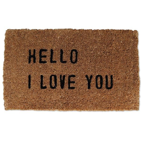Sugarboo Door Mats Hello I Love You Sugarboo Door Mat - 5