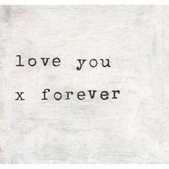 Sugarboo Art Print: Love You x Forever Accessories Sugarboo