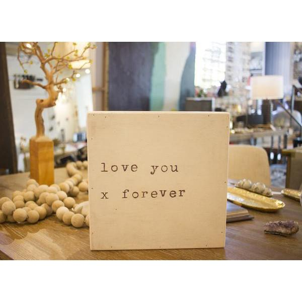 Sugarboo Art Print: Love You x Forever  Sugarboo Accessories - 2