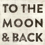 Sugarboo Designs: To The Moon and Back Wall Art Small Sugarboo Wall Decor