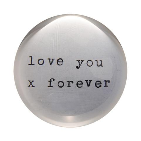 Sugarboo Paperweights Love You X Forver Sugarboo Paper Weight - 4
