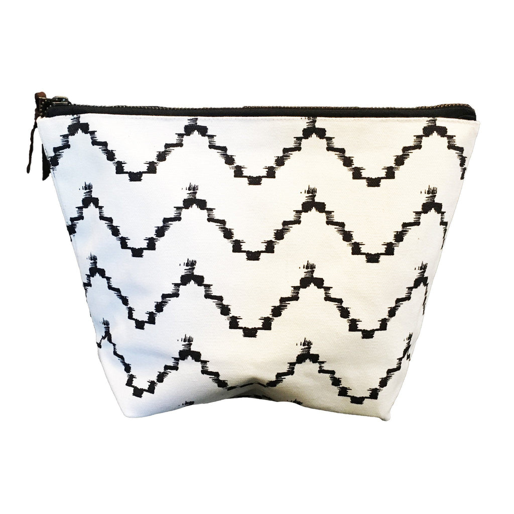 Zig Zag Sumaya Pouch Large ROOST tote - 1