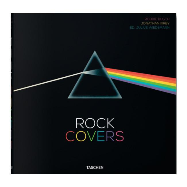 Rock Covers Coffee Table Book