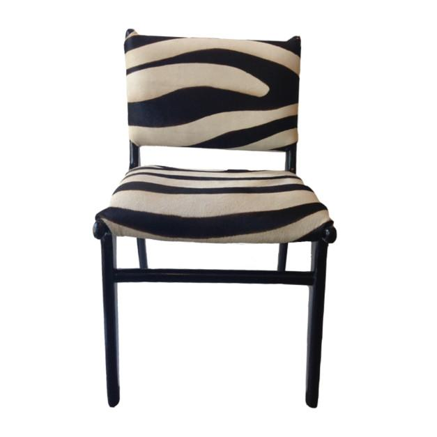 Zebra Chair  Texture Imports Chairs - 1