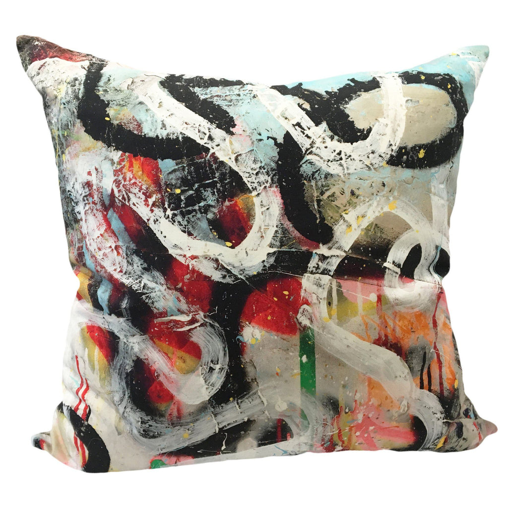 Pierre Frey Graffiti Pillow Pillows VANILLAWOOD