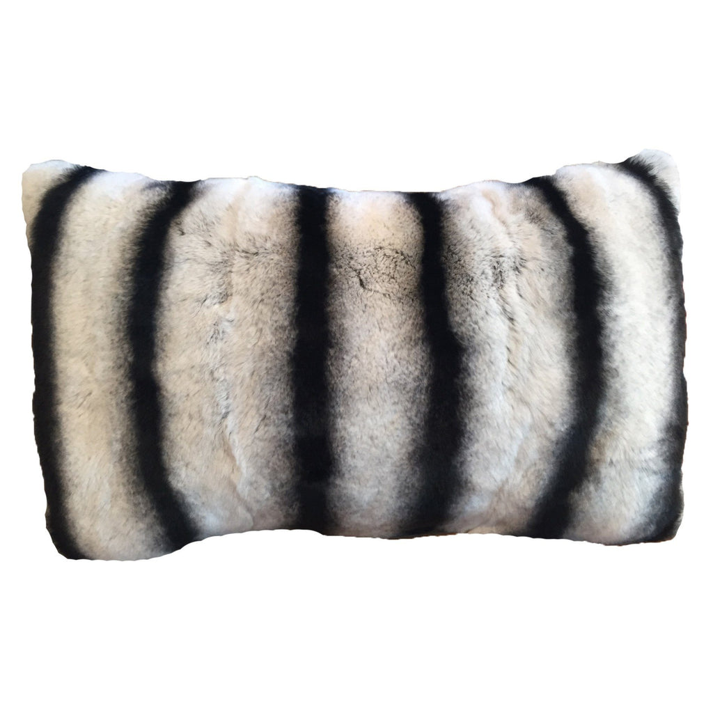 Chinchilla Lumbar Pillow
