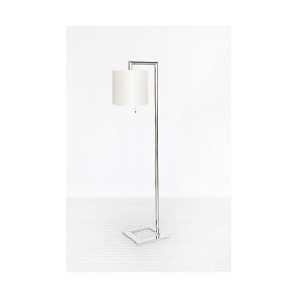Stephan Floor Lamp Silver Plated Worlds Away floor lamp - 3