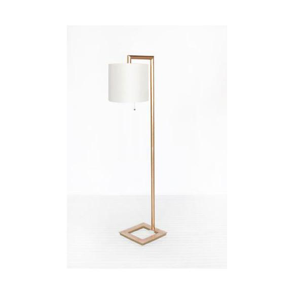 Stephan Floor Lamp Gold Leaf Worlds Away floor lamp - 2