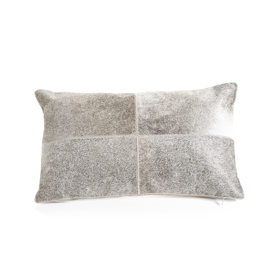 Aman Cowhide Pillow Pillows Zodax
