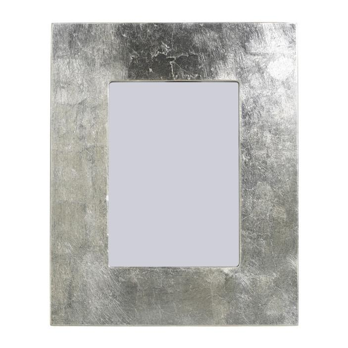 Silver Leaf Photo Frame Picture Frame Zodax 4X6