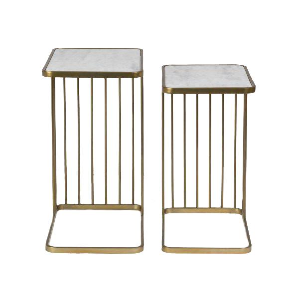 Retro Nesting Tables S/2 Tables Alder & Tweed