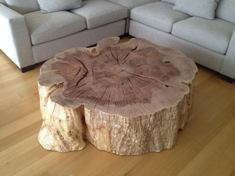 Organic Stump Coffee Table  VANILLAWOOD Unknown - 2