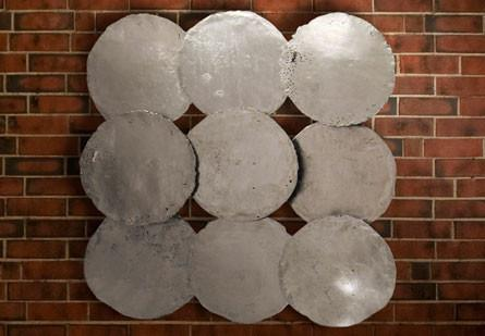 Silver Circle Wall Decor  Phillips Collection Wall Decor - 2