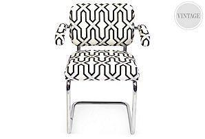 Geo Chrome Chair  VANILLAWOOD Unknown