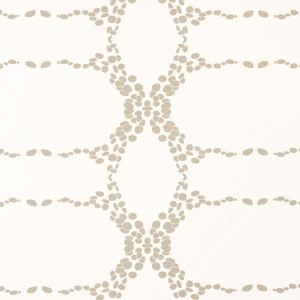 Elizabeth Geometric Wallpaper Moonbeam on Cream Madison&Grow Wallpaper - 8