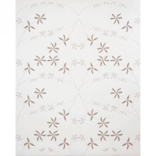Eloise Flower Wallpaper Leaves at First Snow Madison&Grow Wallpaper - 3