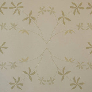 Eloise Flower Wallpaper Leaves at Dawn Madison&Grow Wallpaper - 2