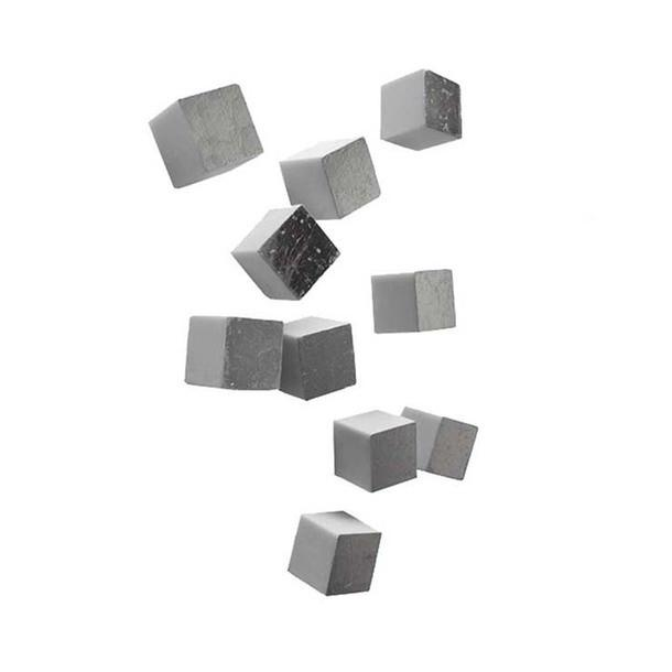 Wall Cube Resin Wall Decor Silver Gold Leaf Wall Decor - 2