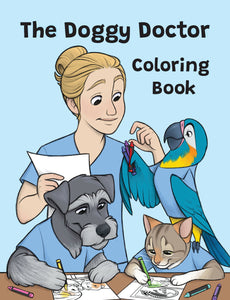 Doggy Doctor Coloring Book