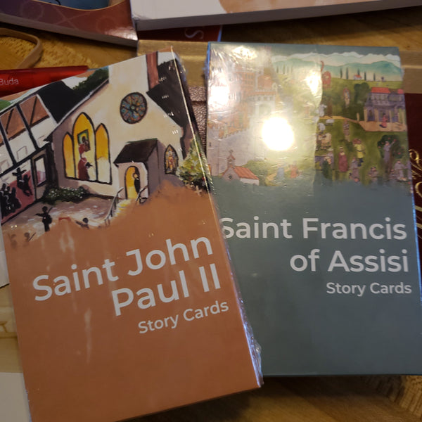 Story Cards various saints