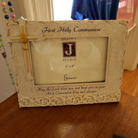 First Communion Frame 4X6 Vertical