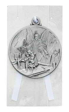 Guardian Angle Crib Medal