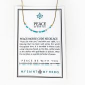 Peace Be With You Necklace