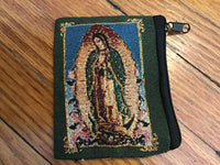 Rosary Pouch embroidered