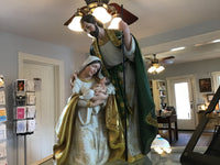 "13.75"" Holy Family Nativity"