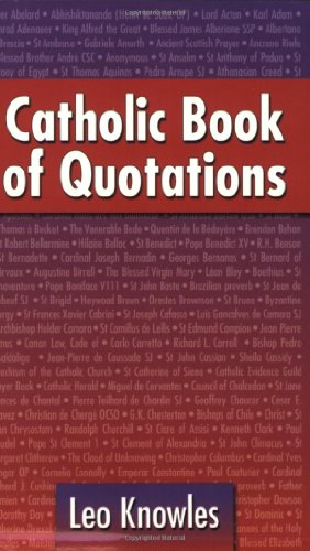 Catholic Book of Quotations