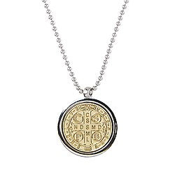 St Benedict Locket