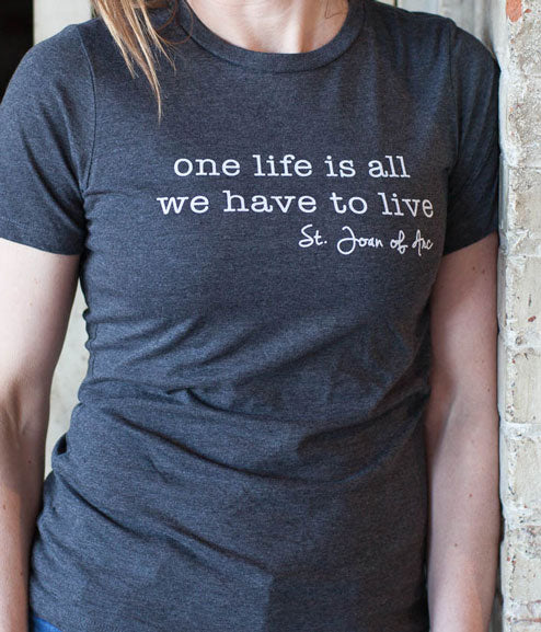 100015 One Life T shirt Pio Print