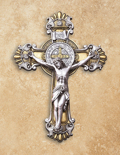 St Benedict Wall Crucifix