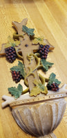 Grapes Holy Water font