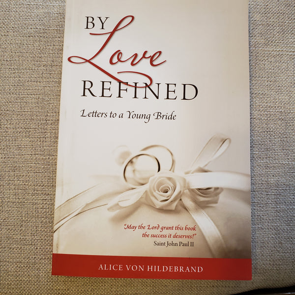 By Love Refined Letter to a Bride