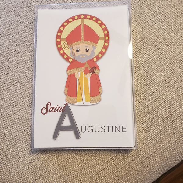 Saint Alphabet Cards TY00009