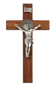 "James Brennan 8"" St Benedict crucifix"