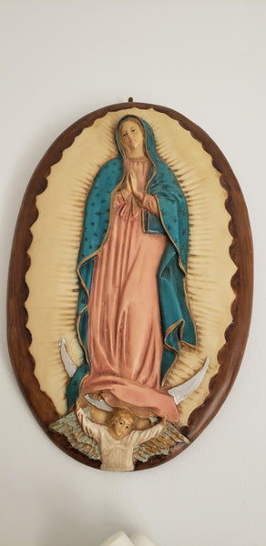 Our Lady of Guadalupe wall plaque TY00050