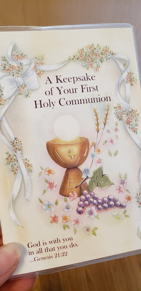 Keepsake of Your First Holy Communion