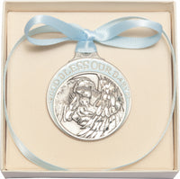 Guardian Angel Crib Medal