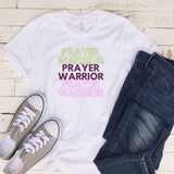 100031 Prayer Warrior by The Word in Saints