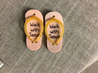 Walk with Jesus eraser