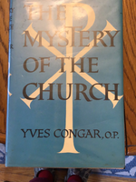 The mystery of the Church by Yves Congar